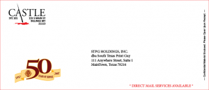 Fake Mockup Envelope #10